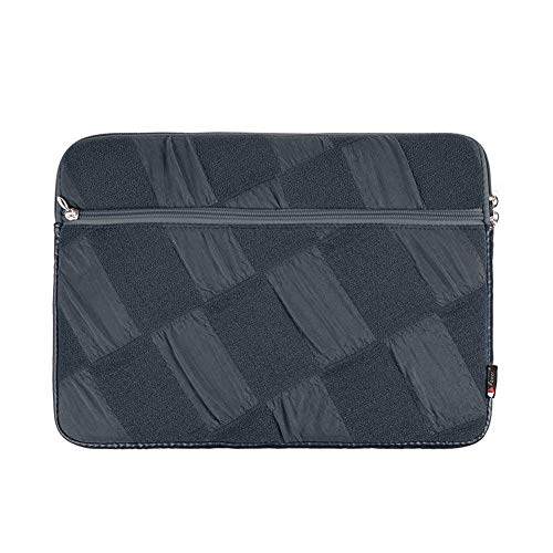 Jancery Home & Kitchen Laptop-Tasche, robust, stilvoll, platzsparend, Rautenmuster, Schwarz (Laptop-tasche Stilvolle)
