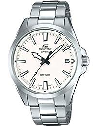 c624aab97f72 Casio Reloj Analogico para Hombre de Cuarzo con Correa en Acero Inoxidable  EFV-100D-