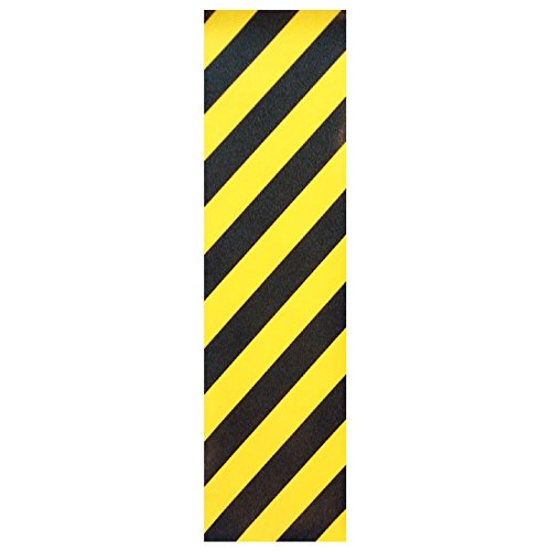 """Black Diamond Skateboard Griptape Graphic Caution 9"""""""
