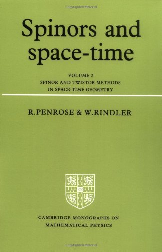 Spinors and Space Time Volume 2: Spinor and Twistor Methods in Space-time Geometry Vol 2 por Penrose/Rindler