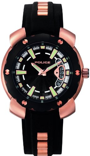 police-mens-watch-citation-x-11624jsr-02-rose-gold-plated-stainless-steel-with-black-rubber-strap