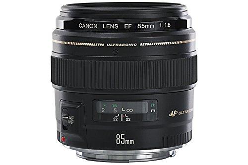 Bild 4: Canon Objektiv EF 85mm F1.8 USM Portraitobjektiv Lens für EOS (Festbrennweite, 58mm Filtergewinde, Autofokus) schwarz