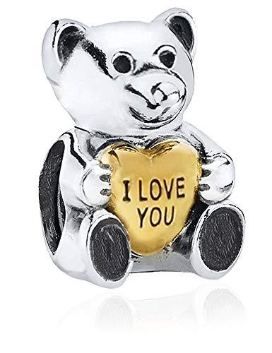 Charm - Sterling Silber S925 Charm für Damen Pandora Armband in einer Geschenkbox ()