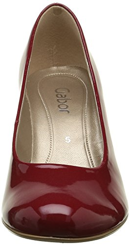 Gabor Shoes Basic, Scarpe con Tacco Donna Rosso (cherry +Absatz)