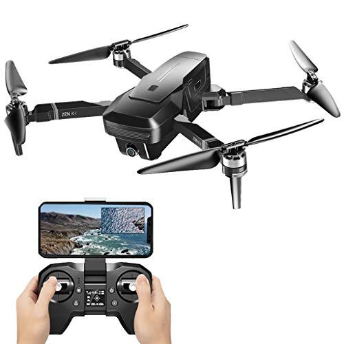 CUEYU VISUO Zen K1 Faltbare Drohne mit 4K 720P Dual Kamera,Brushless Motor Brems System,5G WiFi FPV,30 Minuten Flugzeit,Ideal für Anfänger und Experten