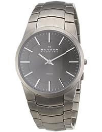 Skagen Herren-Armbanduhr XL Analog Quarz Titan 694XLTXM