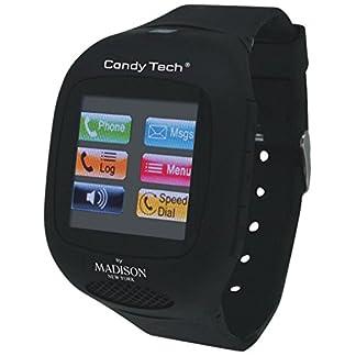 MADISON-NEW-YORK-Unisex-Armbanduhr-Candy-Tech-Digital-Plastik-CT-03A