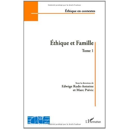 Ethique et Famille (T 1)