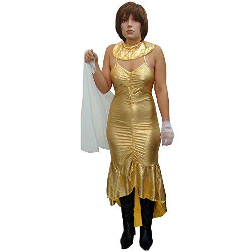 Kostüm Nofretete Königin - Spassprofi Kostüm Ägyptische Königin Nofretete Aphrodite Ägypterin