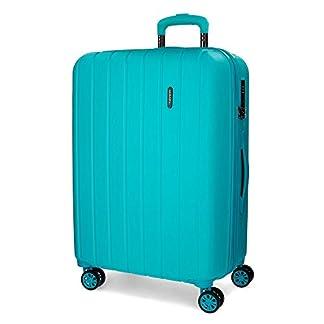Movom Wood 5319267 Maleta, 65 cm, 68 Litros, Azul