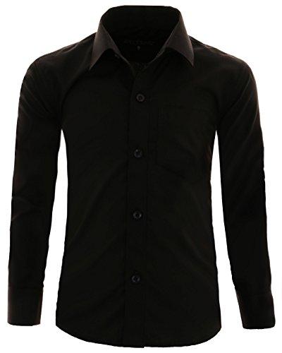 GILLSONZ - Camisa - Clásico - niño Negro