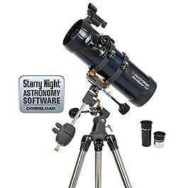 Celestron 31051Astromaster 130EQ-MD Telescopio riflettore con azionamento a motore