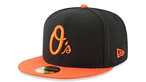 New Era Baltimore Orioles Authentic 59FIFTY Fitted MLB Cap ALT, 7 3/4 (Baltimore Orioles Cap)