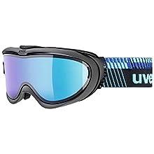 Uvex Comanche Top Ski Goggles, Unisex, S5512114030, anthracite/Blue, One Size