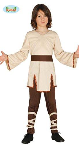 Spiritueller Meister der Sternen Ritter Kostüm für Jungen Kinderkostüm Krieger Gr-110-146, (Verkleiden Outfit Kinder Ritter)