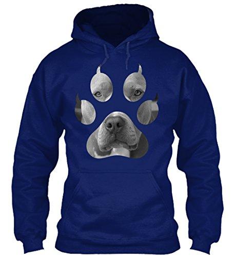 Paw Prints Hoodie (Bequemer Hoodie Damen / Herren / Unisex von Teespring   Originelles Outfit für jeden Anlass und lustige Geschenksidee - Dog Paw Print)