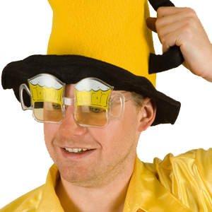 Brille Anton, Bierglasbrille PREISHIT