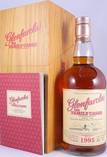 Glenfarclas 1995 23 Years The Family Casks Sherry Butt Cask 6649 Highland Single Malt Scotch Whisky Cask Strength 51,6% Vol. - eine von 609 Flaschen!