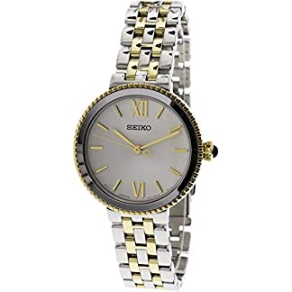 Seiko Analog White Dial Women's Watch-SRZ508P1
