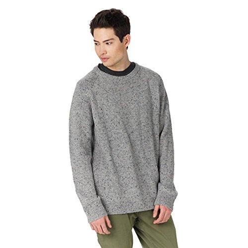 Burton Herren Gus Sweater Sweatshirt Dark Ash Heather