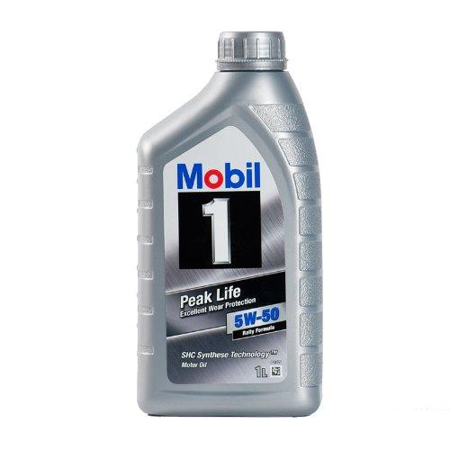 Mobil 1 Peak Life 5W-50 Motoröl,1L