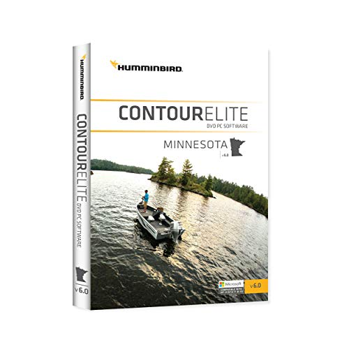 Humminbird 600022-4 Contour Elite DVD Angeln PC Software - Minnesota (Jan '17) Angeln-gps-software