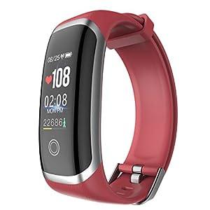 Chenang M4 Smart Armband, Sportuhr Android 4.4 und höher, iOS 8.0 und höher,Fitness-Tracker mit Schrittzähler,Smart Notifications Smart Armband,Bluetooth Smartwatch