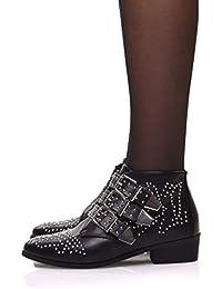 5b97f0fb1718 Amazon.fr   bottines cloutées   Chaussures et Sacs