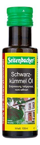 Seitenbacher Bio Schwarzkümmel Öl, 1er Pack (1 x 100 ml) -