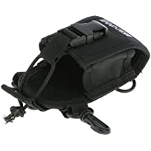 IPOTCH Cubierta Funda Porta Walkie Talkie Teléfono GPS Radio Cintura Compatible con Motorola Kenwood Baofeng