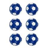 Sharplace 36mm Tischfußball Kickerersatzbälle, 6 Stück/Set