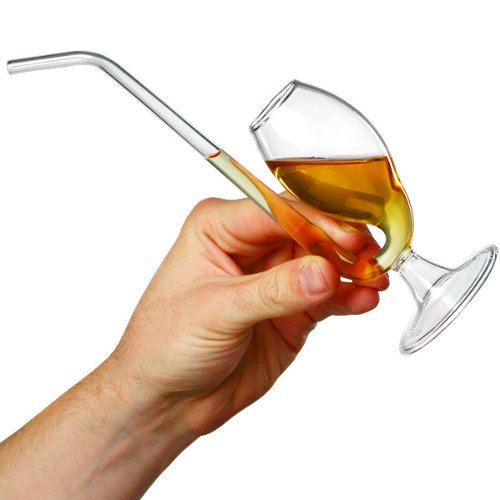bar@drinkstuff Verre à brandy en forme de pipe pour dégustation