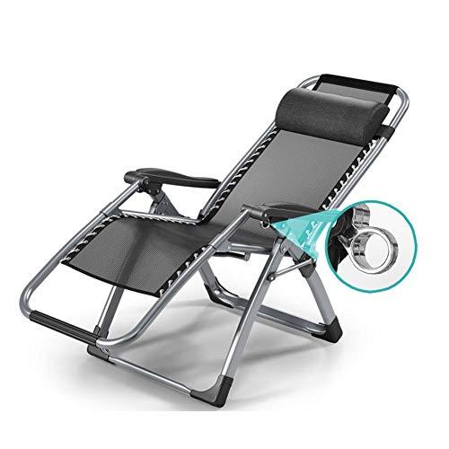 QIDI Chaise Pliante, Lit Pliant, Chaise de Plage, Chaise Longue, Chaise Nap, Simple Moderne, Pas Besoin d'installer Un Bureau de Bruit anormal (Couleur : PAB-4)
