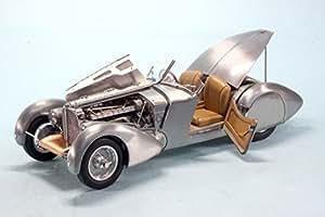 Cmc - M-134 - Véhicule Miniature - Modèles À L'échelle - Bugatti 57 Sc Corsica Roadster - Unpainted - Echelle 1/18