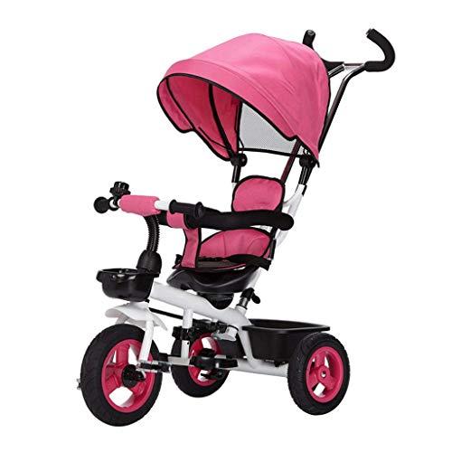 RUIMA Kinder-Dreiradwagen 1-7 Baby Bike Kinder Dreirad Kinderwagen Fahrrad (Farbe : Style B) (Kinderwagen Fahrräder)