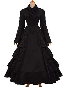 GRACEART Medieval Victoriano Gótico Pelota Vestido Vestir Disfraz