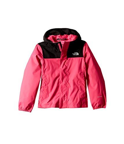 THE NORTH FACE Resolve Reflektierende Hardshelljacke für Mädchen XS Mr. Pink -