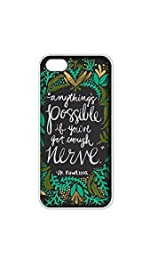 Anything Is Possible Mobile Case/Cover For iPhone 6/6s 2D Transparent