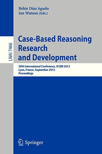 Case-Based Reasoning Research and Development: 20th