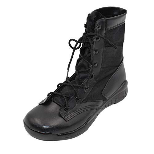 uirend Schuhe Arbeits Berufsschuhe Militär Einsatz Herren - Athletic Desert Einsatz Stiefel Berg Schuh Extra Leicht Hoch Atmungsaktiv mit Klimakomfort (42 EU =Label 43 CN)