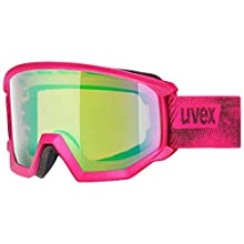 Uvex Athletic Cv Ski Goggles, Unisex, S550527, Pink, standard size