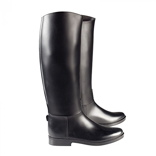 the latest e0430 bdd4f Horze Chester hohe Gummistiefel BlackBL -dr-keil ...