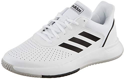 adidas Herren Courtsmash Tennisschuhe, Weiß (Ftwbla/Negbás/Gridos 000), 42 2/3 EU