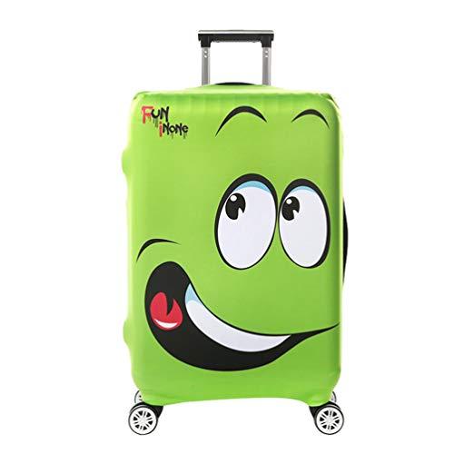 YiiJee Kratzfest Kofferhülle Kofferschutzhülle Luggage Cover Gepäck Cover Kofferbezug Reisekoffer Hülle Kofferschutz Als Bild1 L