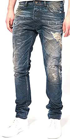 872dba29 Image Unavailable. Image not available for. Colour: Diesel Jeans Tepphar  68Z Skinny Fit Tapered 0068Z