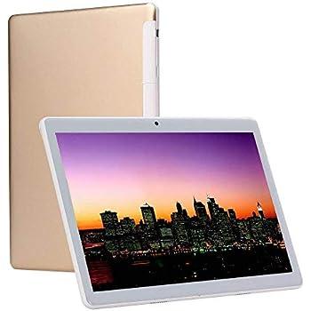 Tablet PC HD 10 pulgadas Oro (Android 7.0, 4GB de RAM, 64GB de