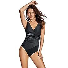 Delimira Bañador con Relleno Vientre Plano Bikini Para Mujer