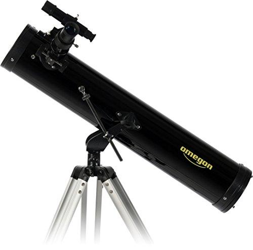 Omegon Teleskop N 76/700 AZ-1, Spiegelteleskop mit 76mm Öffnung und 700mm Brennweite