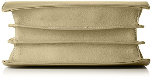 David Jones - Cm3743, Borse a mano Donna Verde (Khaki)