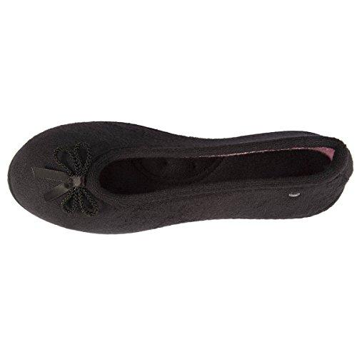 Isotoner ,  Pantofole Donna Nero